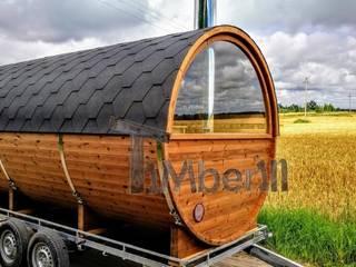 TimberIN houten sauna's van TimberIN hot tubs en sauna's Scandinavisch