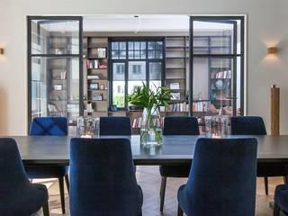 Oslo- drzwi szklane w konstrukcji stalowej GlassDecorator Okna i drzwiDrzwi Żelazo/Stal