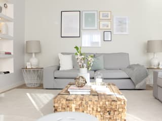 Scandinavian style living room by Catarina Batista Studio Scandinavian