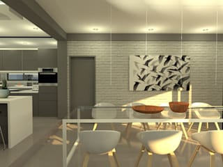 A4AC Architects Modern dining room