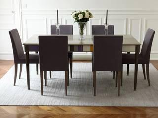 Classique Haussmannian Appartement Salle à manger moderne par Lichelle Silvestry Moderne