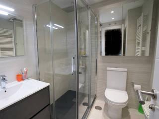 Reforma de un baño en Chamartín por Vivienda Sana Baños de estilo moderno de Vivienda Sana Moderno