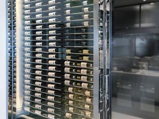 Millesime Wine Racks Gastronomia in stile moderno Alluminio / Zinco Grigio