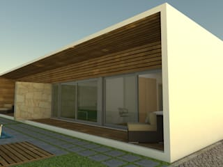 modern  by Paulo Bernardino - arquitecto, Modern