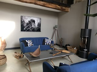 Ethnic living room: asian  by Belle & Cosy Interior Design, Asian