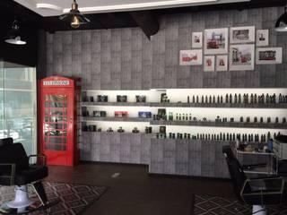Barber shop. : Espacios comerciales de estilo  por INTERIORISIMO