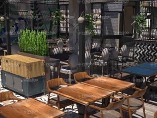 STUDIOARCH – Cafe Restaurant Tasarımı 1:  tarz ,