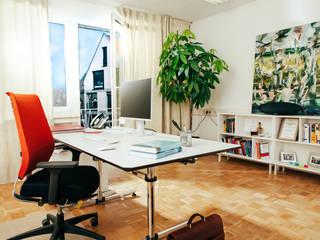 Office Design - Beratungsunternehmen:  Bürogebäude von vierwandglück GmbH