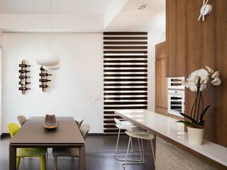 manuarino architettura design comunicazione Modern dining room Wood Brown