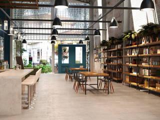 Sede Comercial 01: Escritórios  por Entreponto Arquitetura