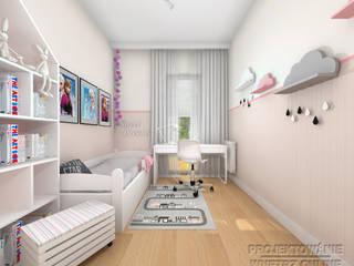 Projekt pokoju dziecka - Elza: styl , w kategorii Pokój dziecięcy zaprojektowany przez Projektowanie Wnętrz Online