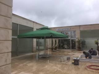 Akaydın şemsiye Modern Conservatory Aluminium/Zinc Green