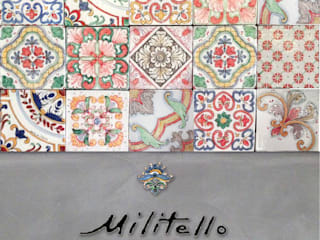 Patchwork: Pavimento in stile  di  Ceramiche Militello