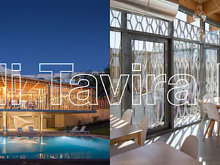 Ozadi Tavira Hotel:   por Ghome,Moderno