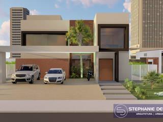 Projeto Residencia Unifamiliar por Stephanie Delbaje Arquitetura e Interiores Moderno