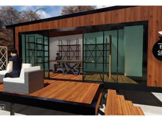 Minimalist study/office by VAGOON HOUSE Minimalist