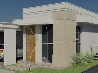 Fachada residencial por Fernanda Chiebao- ARCHI Moderno