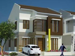 Rumah Tinggal 2 Lantai - Duren Sawit Oleh Adhicitta Karya Megah Minimalis