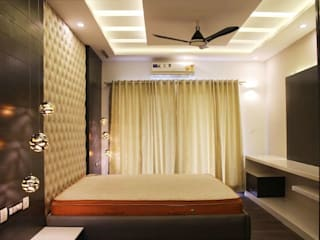 3bhk completed project mira road Modern style bedroom by KUMAR INTERIOR THANE Modern