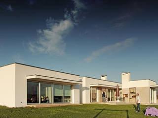 Casa na Cruz de Oliveira: Casas  por pedro fonseca jorge, arquitetura + design