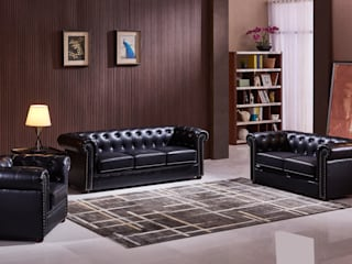 Living room by Muebles Marieta
