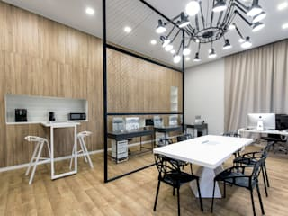 Офис дизайн-студии VSREDE: Офисные помещения в . Автор – VSREDE INTERIOR DESIGN,