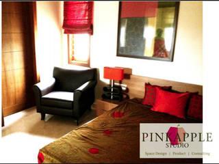 HNI residential Modern living room by PINKAPPLE Modern