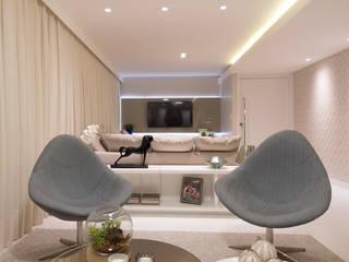 Salas de estar modernas por ESTUDIO NOI ARQUITETURA Moderno