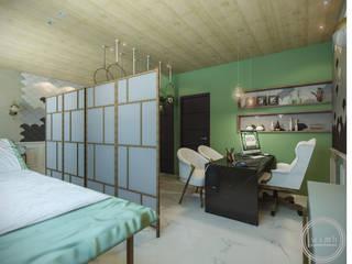 consultório oncológico: Escritórios  por wimb,Moderno