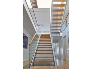 Red Hook Townhouse:  Stairs by Sarah Jefferys Design