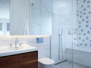 Sarah Jefferys Design Modern style bathrooms