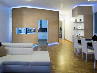 Ilan house: Cucina attrezzata in stile  di officinaleonardo, Moderno