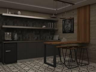 Nunu Yapı Mimarlık  – Mutfak Alanı :  tarz Ofis Alanları