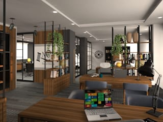Nunu Yapı Mimarlık  – Çalışma Alanı :  tarz Ofis Alanları