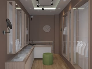 Nunu Yapı Mimarlık  – Gümüş Mağazası:  tarz Ofisler ve Mağazalar