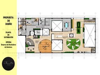 IFICINA:  de estilo  por JLB DESIGN