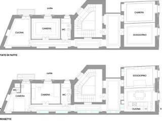 ที่เรียบง่าย  โดย gk architetti  (Carlo Andrea Gorelli+Keiko Kondo), มินิมัล