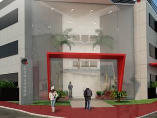 Edificios de Oficinas de estilo  por L+W Arquitetos , Moderno