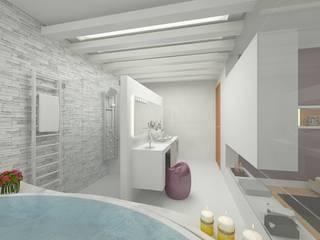 Grupo DH arquitetura BathroomDecoration White
