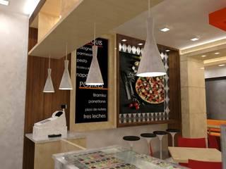 Pizzeria Mañongo de SCABA EQUIPAMIENTO Y ARQUITECTURA COMERCIAL , C.A. Moderno