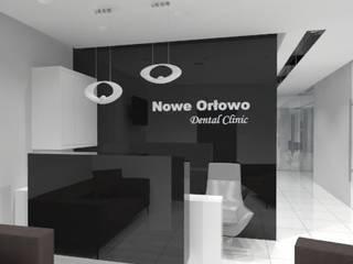 recepcja i rejestracja do gabinetów stomatologicznych: styl , w kategorii  zaprojektowany przez ARCHAMO architektura