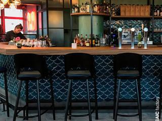 Langoest Restaurant, Rotterdam:  Gastronomie von Mosaic del Sur