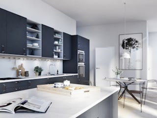 Architectural Visualisation - Scandinavian Interior Scandinavian style dining room by WEMAPOUT Scandinavian