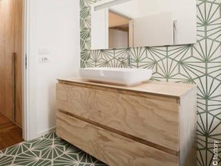 Wohnung Renovierung, Italien:  Badezimmer von Mosaic del Sur