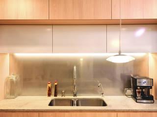 Chetecortés Built-in kitchens Wood effect