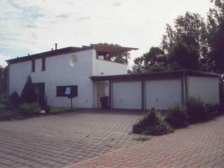 Eingangsansicht:  Einfamilienhaus von Architekt Witte