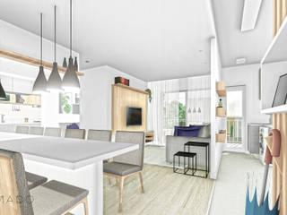 Comedores de estilo  de ARAMADO arquitetura+interiores, Minimalista