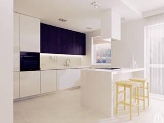 Projekt kuchni: styl , w kategorii Kuchnia na wymiar zaprojektowany przez Moskou Architektura Wnętrz