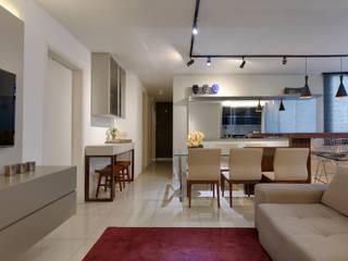 Emmanuelle Eduardo Arquitetura e Interiores Comedores de estilo moderno