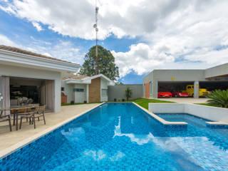 Dani Santos Arquitetura Garden Pool